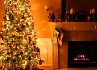origen del árbol navideño