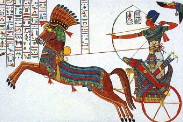 arco y flechas antiguo egipto