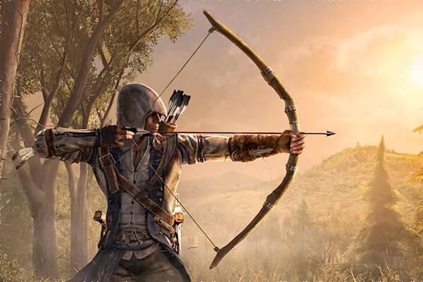 historia del arco y las flechas
