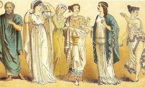 el bolso en Grecia Clásica