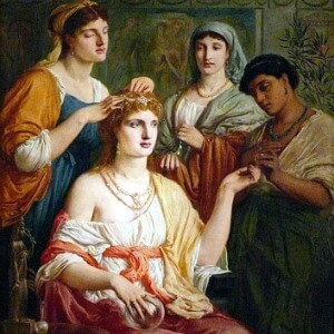 Historia del bronceador Antigua Roma