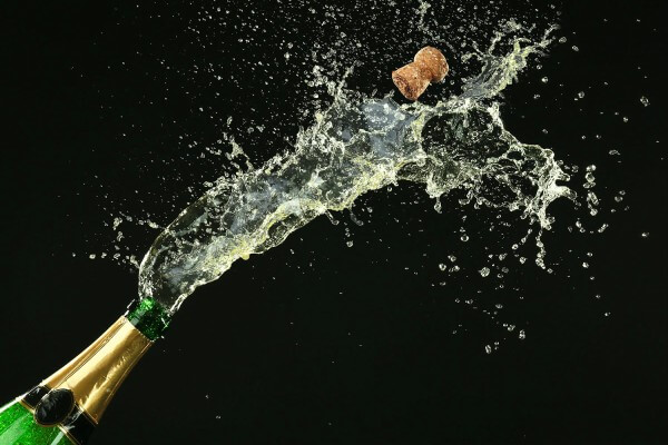 origen del champagne