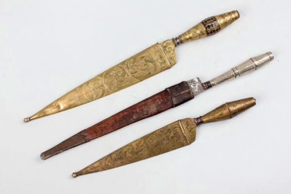 quién inventó el cuchillo