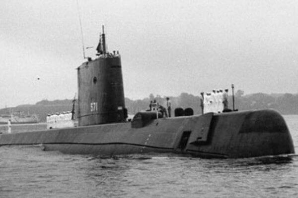cuál fue el primer submarino nuclear