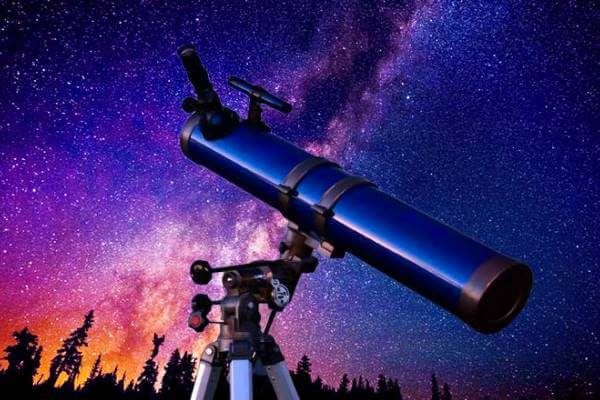 historia del telescopio resumen