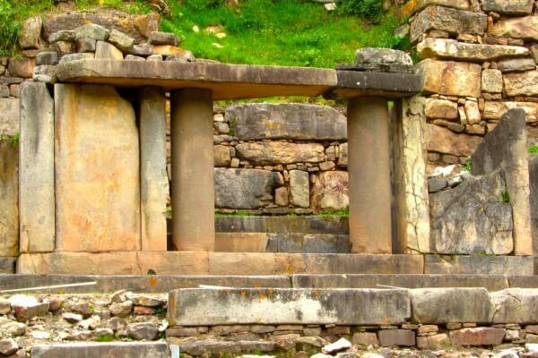 quién construyó el sitio de Chavín de Huántar