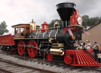 origen de los trenes y locomotoras