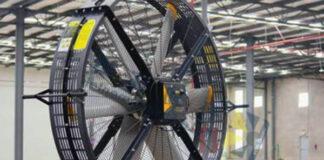 quién inventó el ventilador industrial