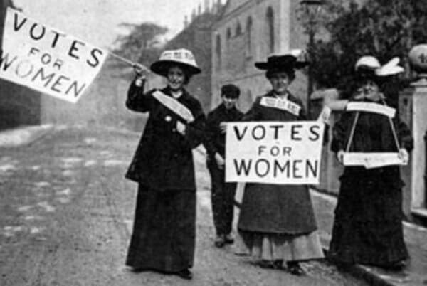 origen e historia del voto femenno