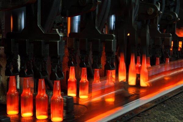 historia botella de cristal