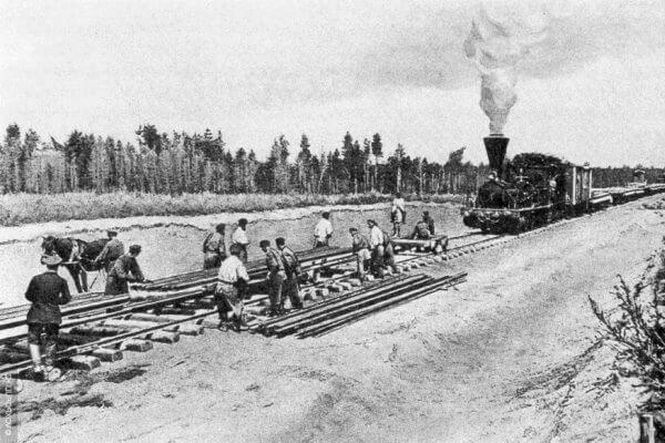 cuándo se creó el tren transiberiano