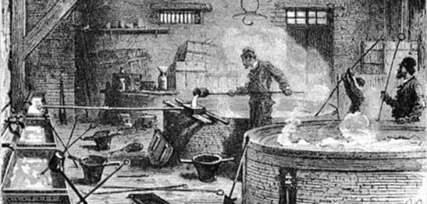 historia proceso de fabricación jabón