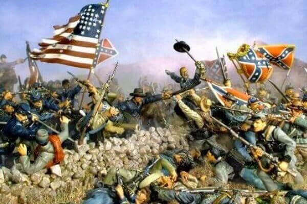 historia guerra secesión estadounidense