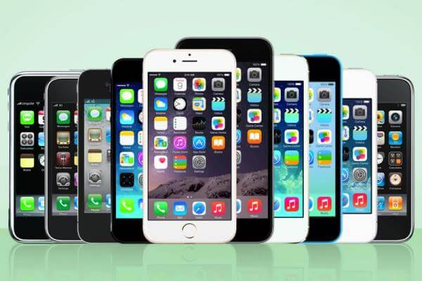 historia del teléfono iPhone
