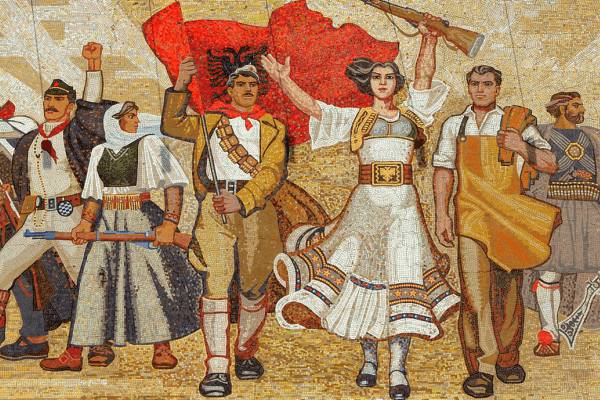 Historia moderna Albania