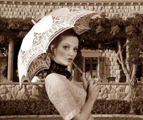 con qué se hacían los paraguas en la antigüedad