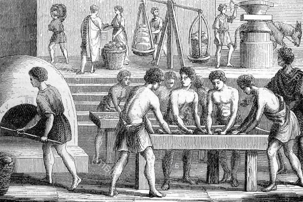 origen del pan antigua Grecia