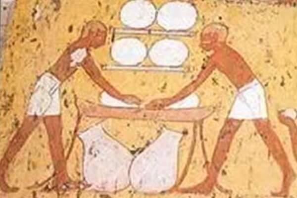 origen del pan antiguo Egipto