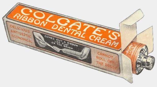 quien inventó el tubo de pasta dental
