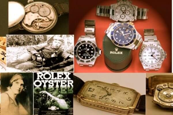 primer reloj de pulsera ROLEX