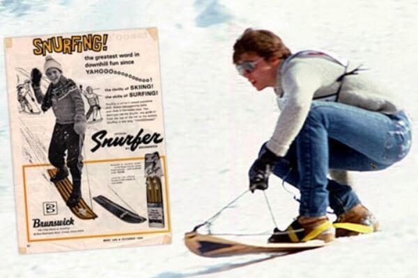 cuál es la historia del snowboard