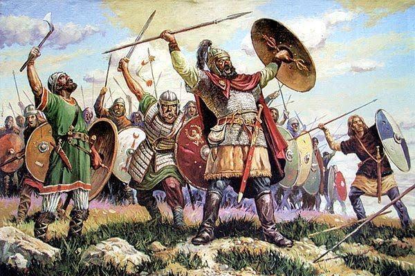 invasión España visigodos