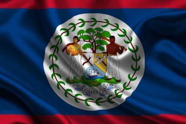 origen de la bandera de Belice