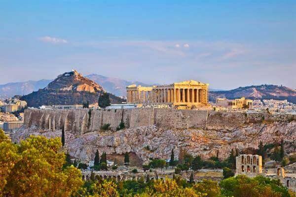 fotografías partenón Atenas