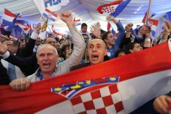 cuándo se independizó Croacia