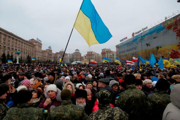 cuándo se independizó Ucrania