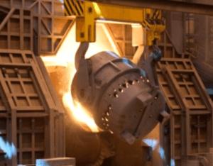 cuál es la mezcla del acero