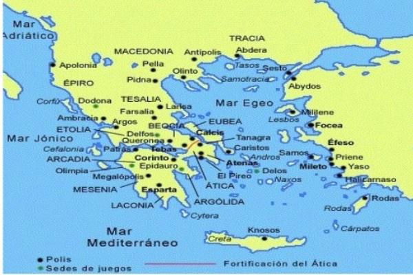 historia polis Grecia