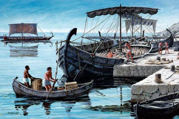 primeras exploraciones en el mediterráneo