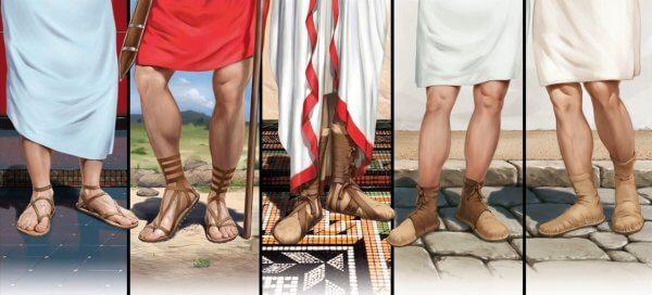quién inventó las sandalias
