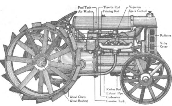 primer tractor John deere