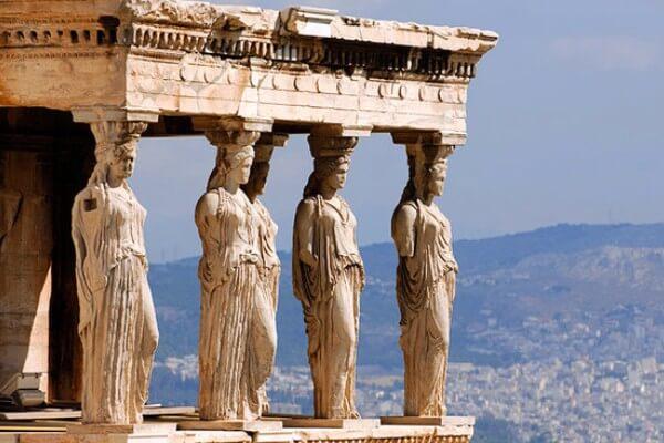 acrópolis de Atenas características