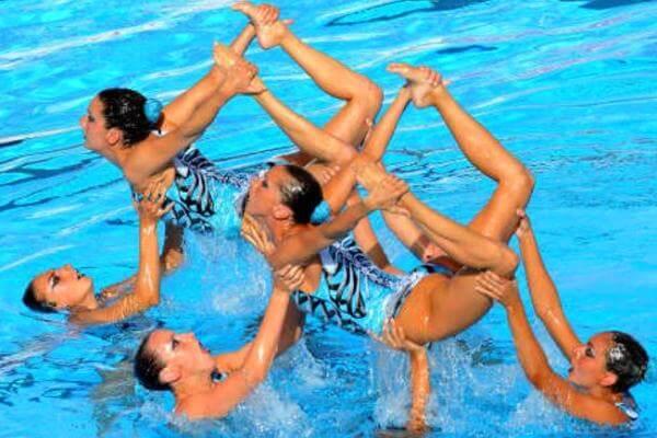 historia de la natación sincronizada