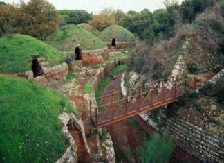 necrópolis etrusca de Banditaccia origen e historia