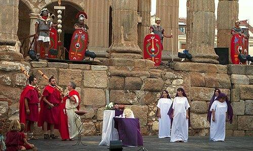 obra de teatro romano