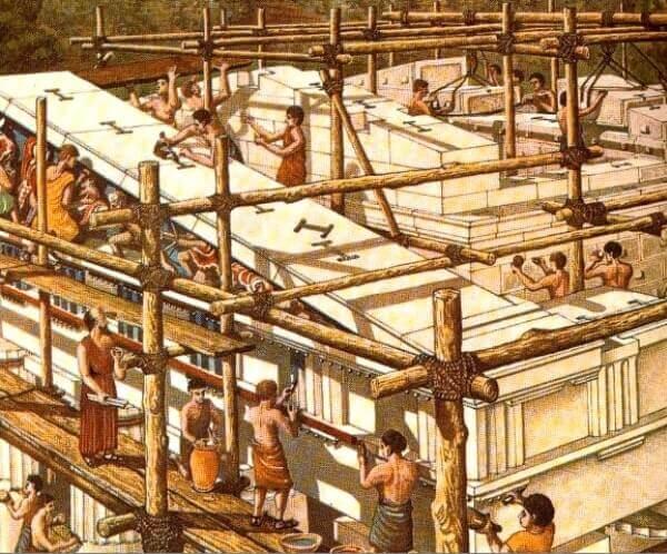 quién diseñó el partenón Atenas