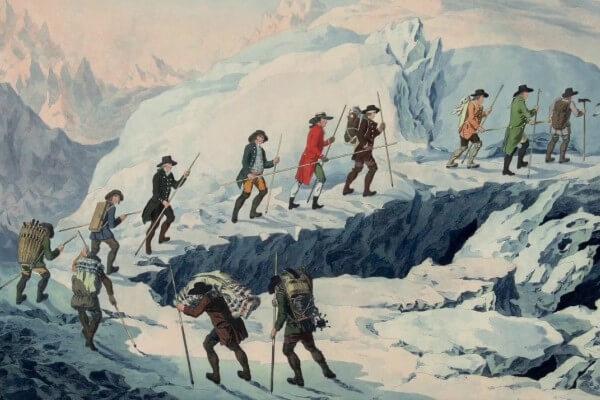 reseña histórica alpinismo