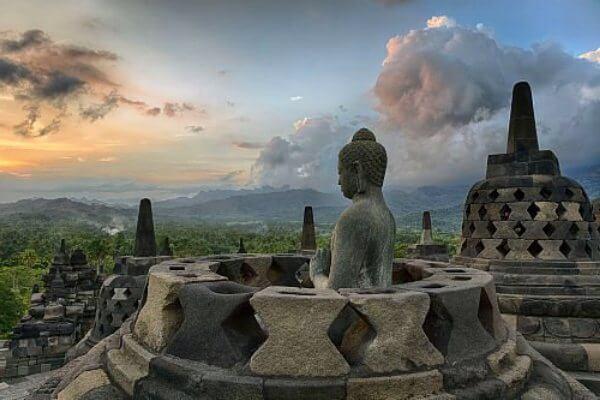 origen e historia templo de Borobudur