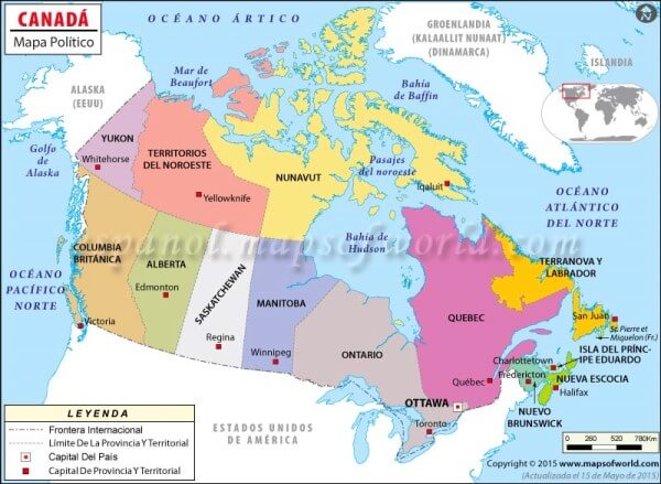 historia de canadá para niños