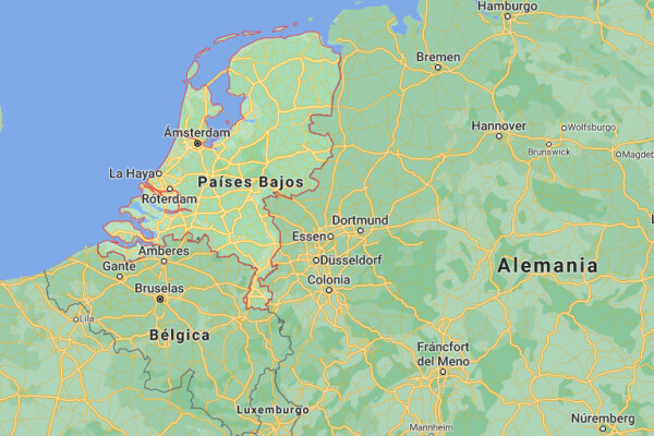 cuál es el origen de los Países Bajos