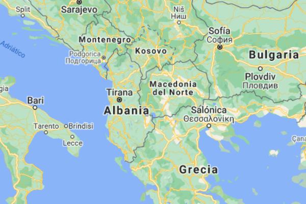 cuándo se creó Albania