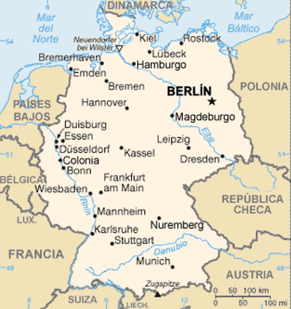 ¿Cuál es el origen de Alemania?