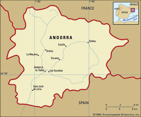 cuándo se creó Andorra