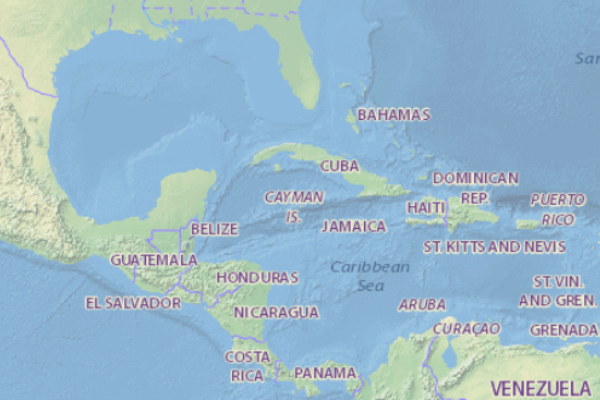mapa histórico de Cuba