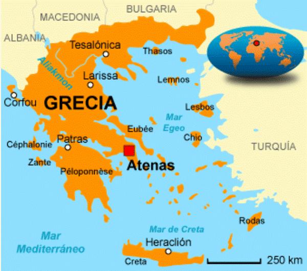 cuál es el origen de Grecia