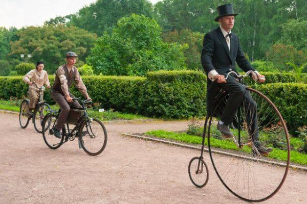 cuál es el origen de la bicicleta